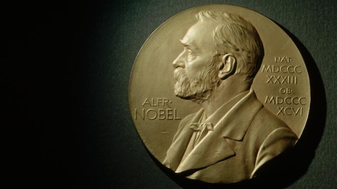 Nobel Prize Medal Bearing Likeness of Alfred Nobel. (Credit: Ted Spiegel)