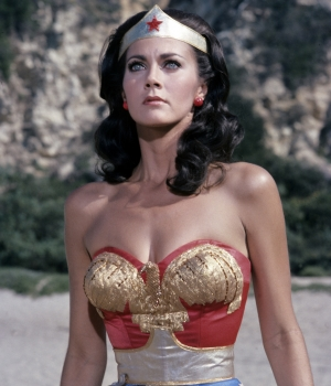 Lynda Carter as Wonder Woman in the television series. (Credit: ABC Photo Archives/ABC via Getty Images)
