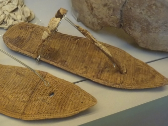 Sandals from tomb. (Credit: Museo Egizio Turin Suppl)