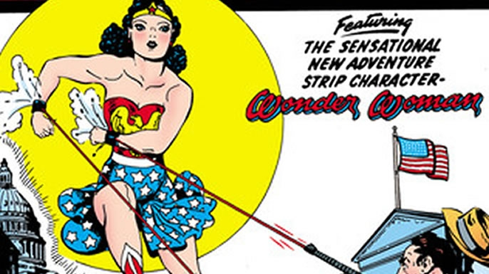 The first comic to feature Wonder Woman on its cover. (Credit: DC Comics)