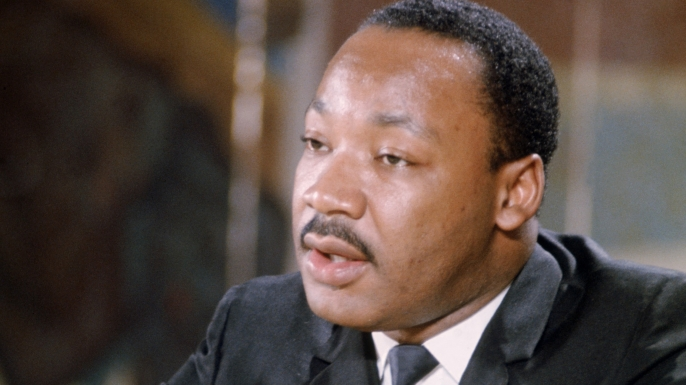 Martin Luther King Jr. (Credit: Don Carl Steffen/Getty Images)