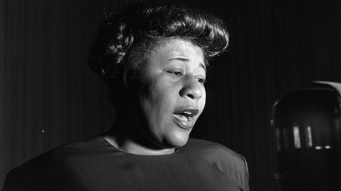 Jazz singer Ella Fitzgerald.