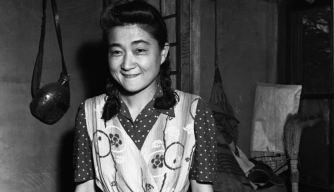 "Iva Ikuko Toguri d'Aquino was the woman American authorities charged as being ""Tokyo Rose"", the Japanese American woman who broadcast propeganda for the Japanese during World War II. (Credit: CORBIS/Corbis/Getty Images)"