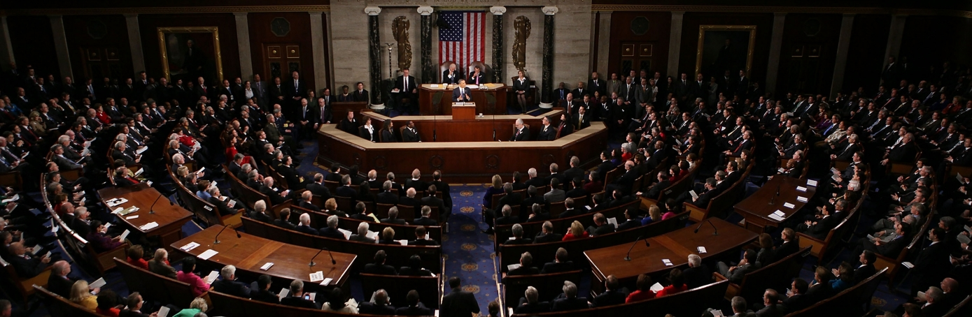 President Barack Obama delivers his 2011 State of the Union Address. (Credit: Alex Wong/Getty Images)