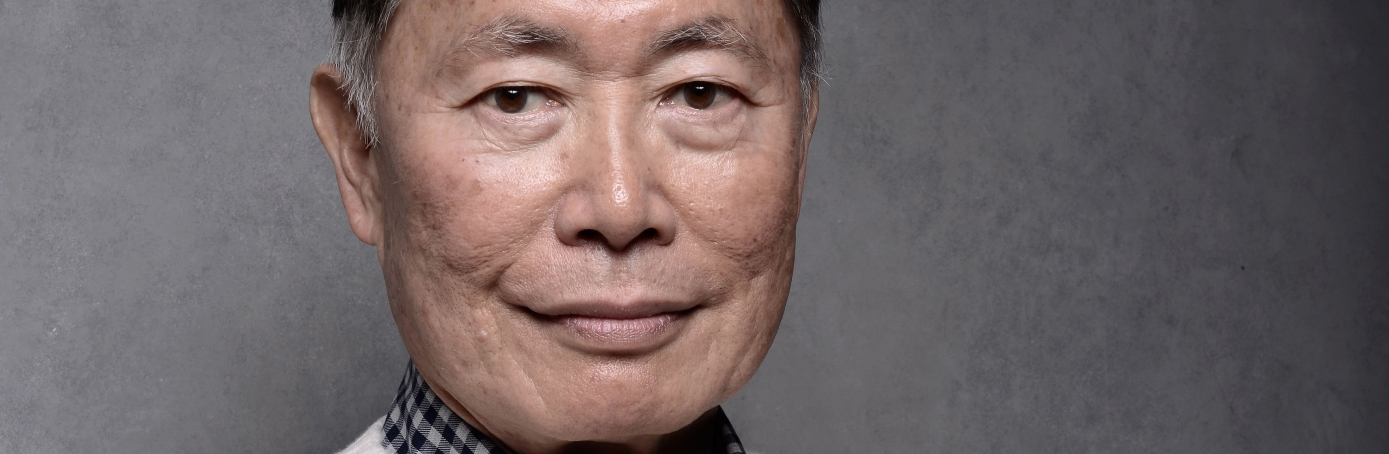 George Takei poses for a portrait during the 2014 Sundance Film Festival.