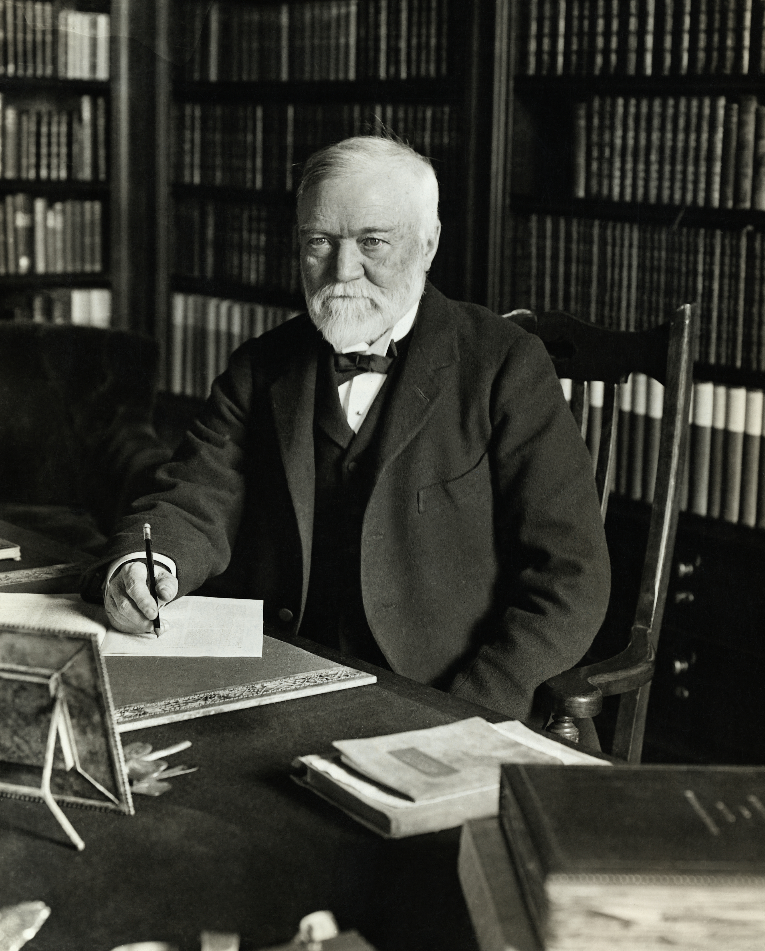 Andrew Carnegie's Surprising Legacy - History in the Headlines Andrew Carnegie