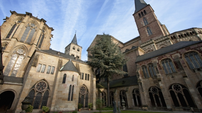 St. Peter's Cathedral, Trier, Rhineland-Palatinate, Germany. (Credit: Insights/Getty Images)
