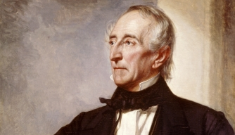 John Tyler, 10th President of the United States, by George Peter Alexander Healy. (Credit: SuperStock/Getty Images)