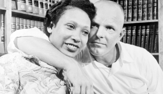 Richard and Mildred Loving in Washington, DC. (Credit: Bettmann / Getty Images)