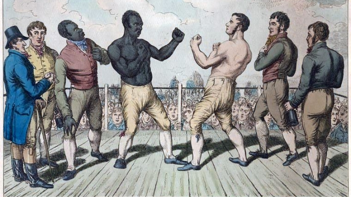 Tom Molineaux vs Thomas Cribb