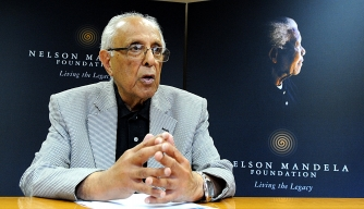 Ahmed Kathrada. (Credit: Denzil Maregele/Getty Images)