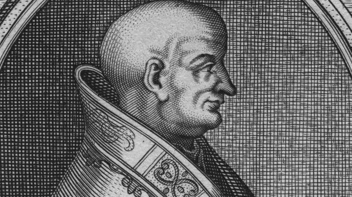 Pope Lucius II, circa 1140.