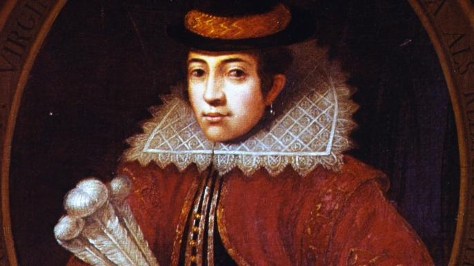 Matoaka or Pocahontas after her conversion to Christianity and marriage to settler John Rolfe.