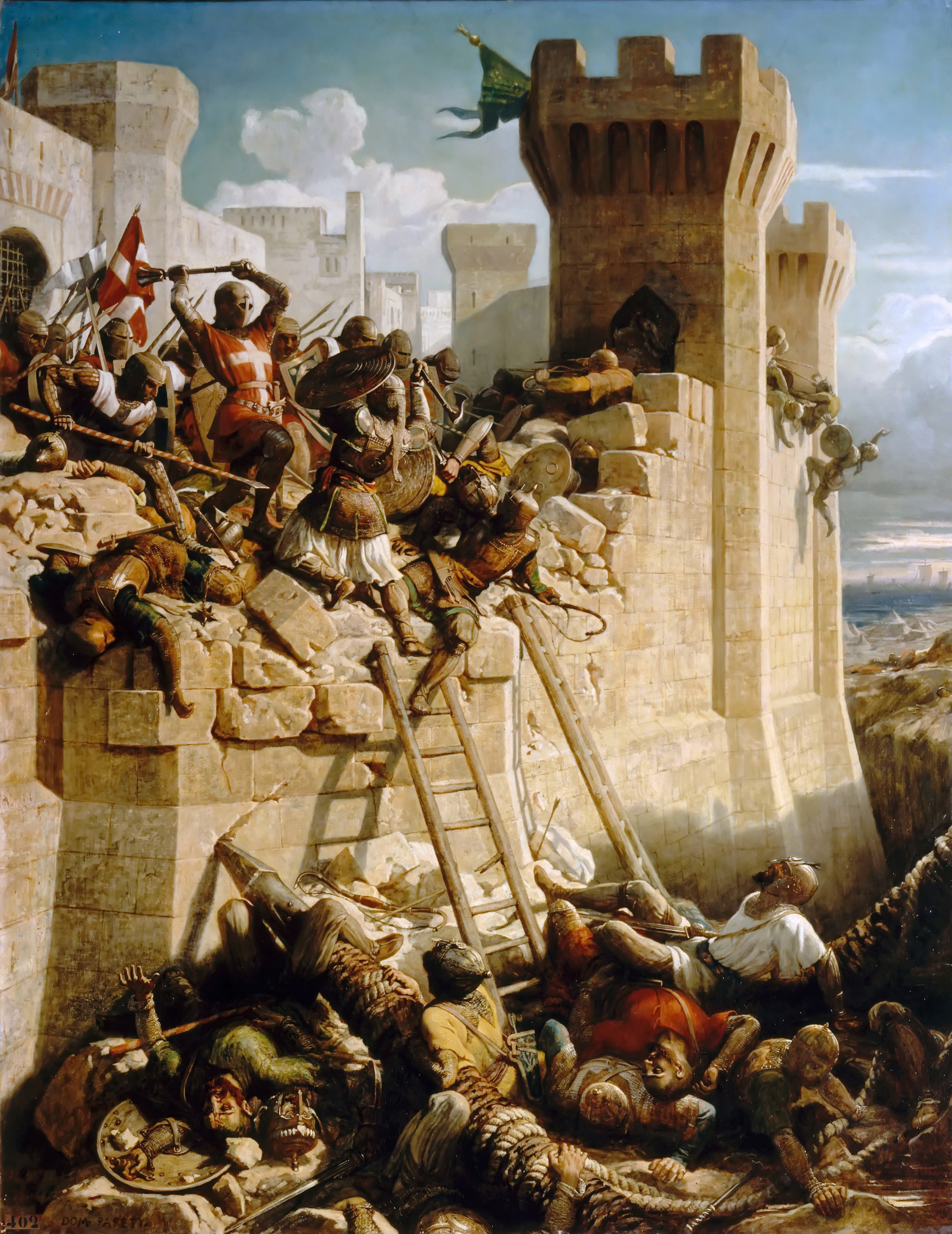 the sieges of antioch and jerusalem during the first crusade and acre during the third crusade The first of three crusades: jerusalem regained and hattin and recaptures jerusalem 1190 – third crusade under siege of jerusalem in.