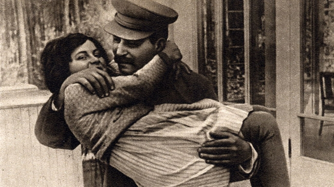 Joseph Stalin Svetlana in 1936. (Credit: Universal History Archive/UIG via Getty Images)