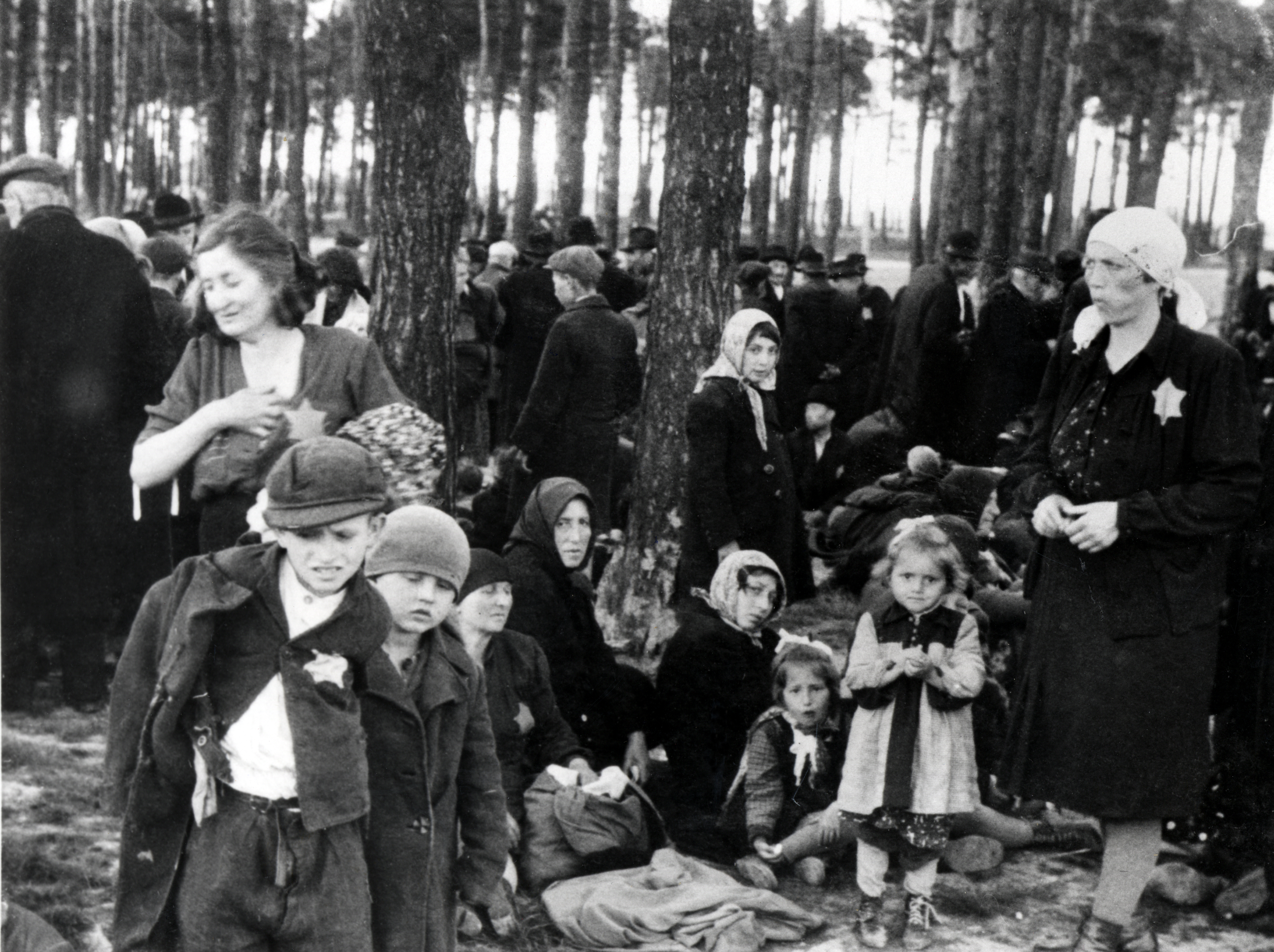 a history of the auschwitz facility during the world war two On the eve of world war ii over 33,000 jews in the ukraine were shot in the babi yar ravine near kiev during two days in the history place - holocaust.