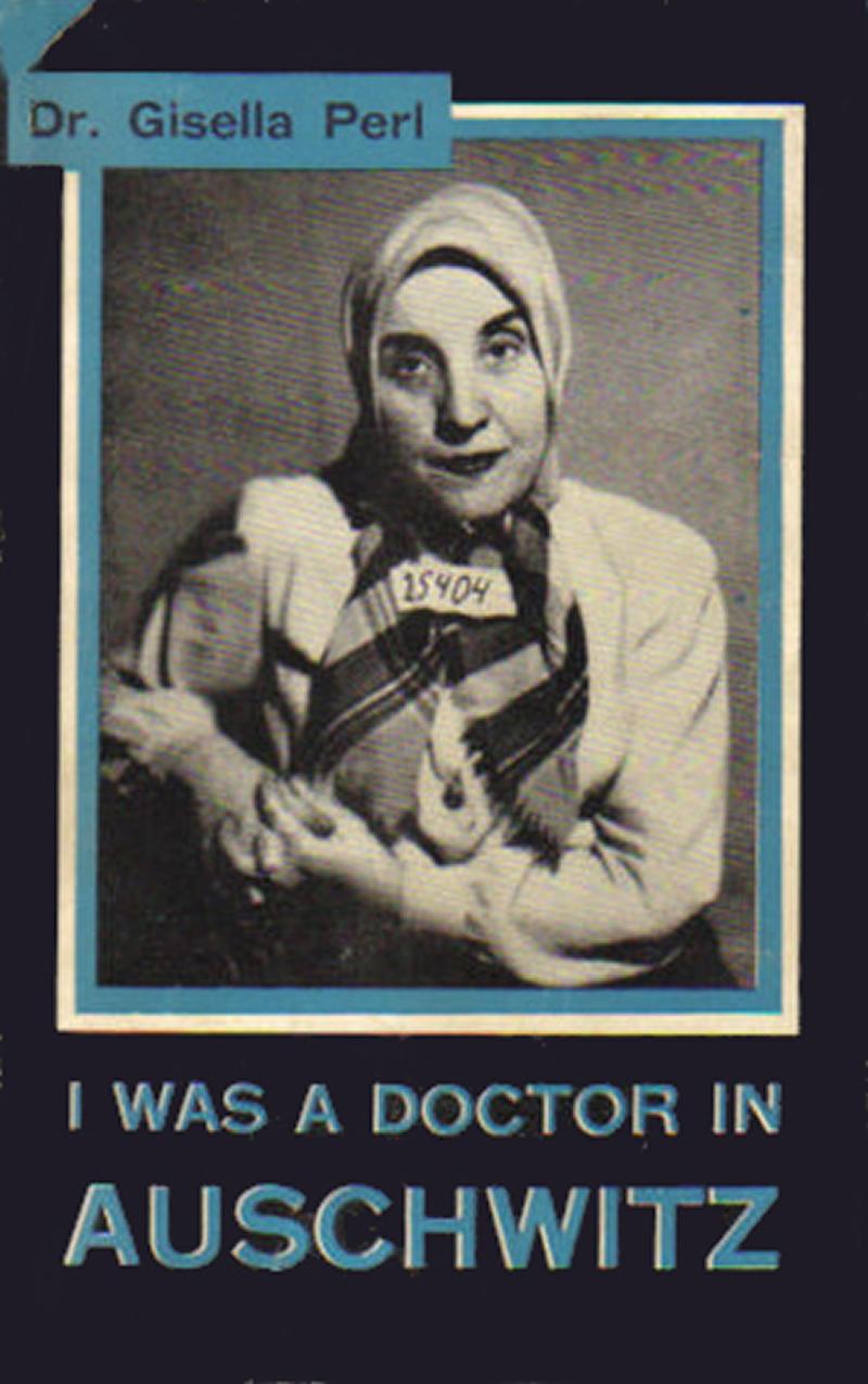 Dr Gisella Perl's Book Cover (credit: Wikipedia)