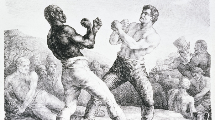 Boxers by Theodore Gericault