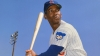 """Mr. Cub"" Ernie Banks of the Chicago Cubs"