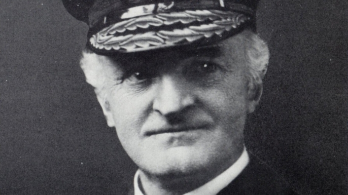 William Reginald Hall, who headed up Britain's Room 40 code-breakers