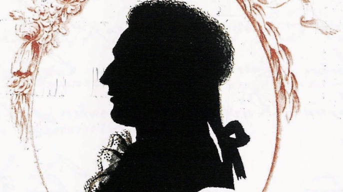 A traditional silhouette