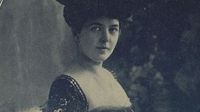 Julia Dent Grant, later Princess Cantacuzene Spiransky, the granddaughter of Ulysses S. Grant.