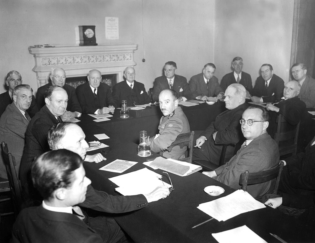 opening of secret un archive yields new holocaust revelations the united nations war crimes commission meets on 6 1945 in the royal