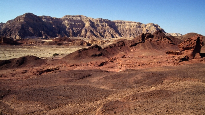 The Timna Valley, Israel.