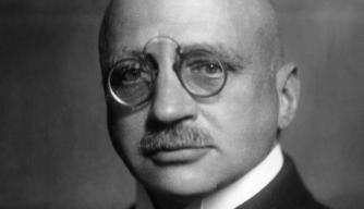 Fritz Haber, c. 1920.