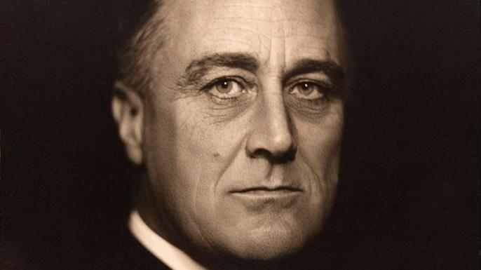 Franklin Delano Roosevelt, 1932.