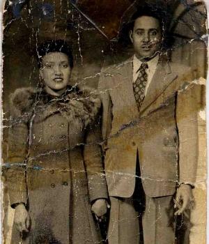 Henrietta with her husband, David. (Credit: Lacks Family)
