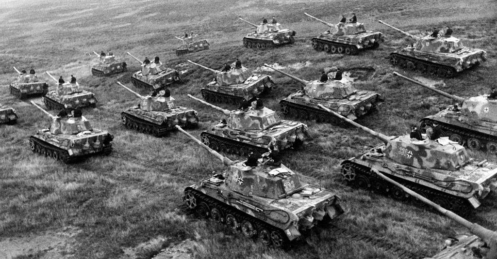 how did the nazis really lose world war ii in the headlines  panzer tiger ii tanks in 1944 credit ullstein bild ullstein bild