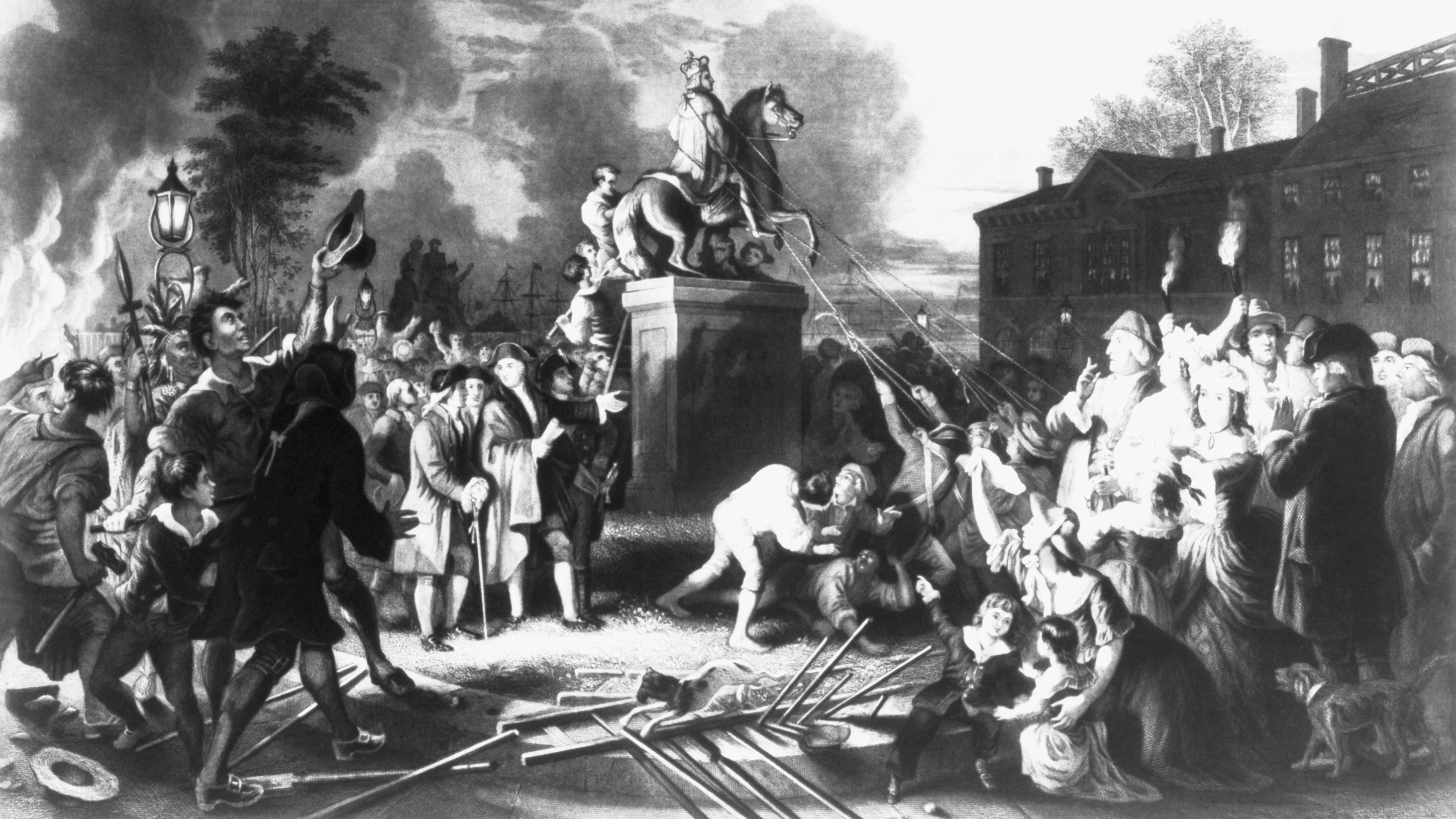 american revolution the colonists 1765 - in march, the stamp act is passed by the english parliament imposing the  first direct tax on the american colonies, to offset the high costs of the british.