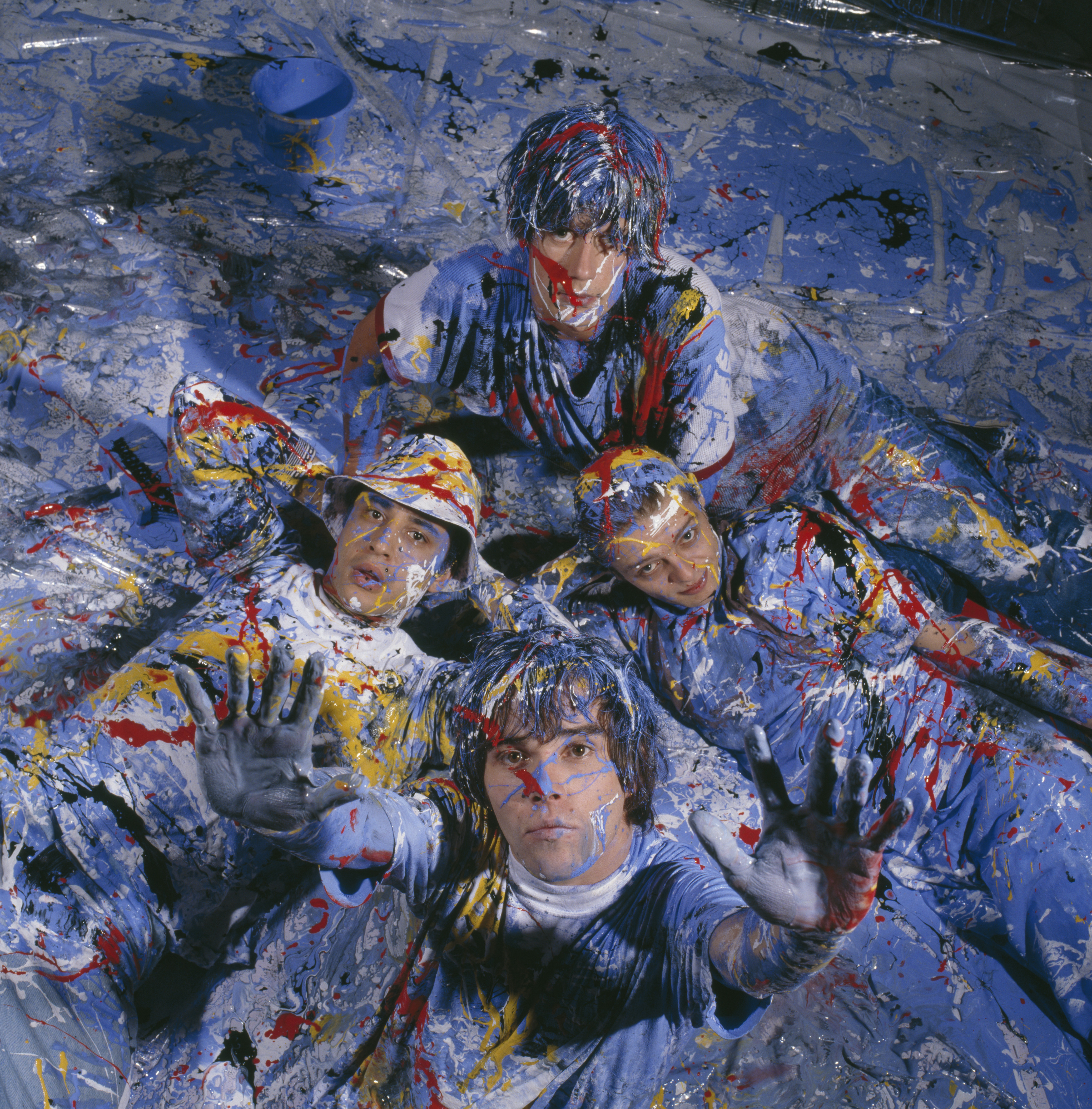splatter abstract stone roses - photo #6