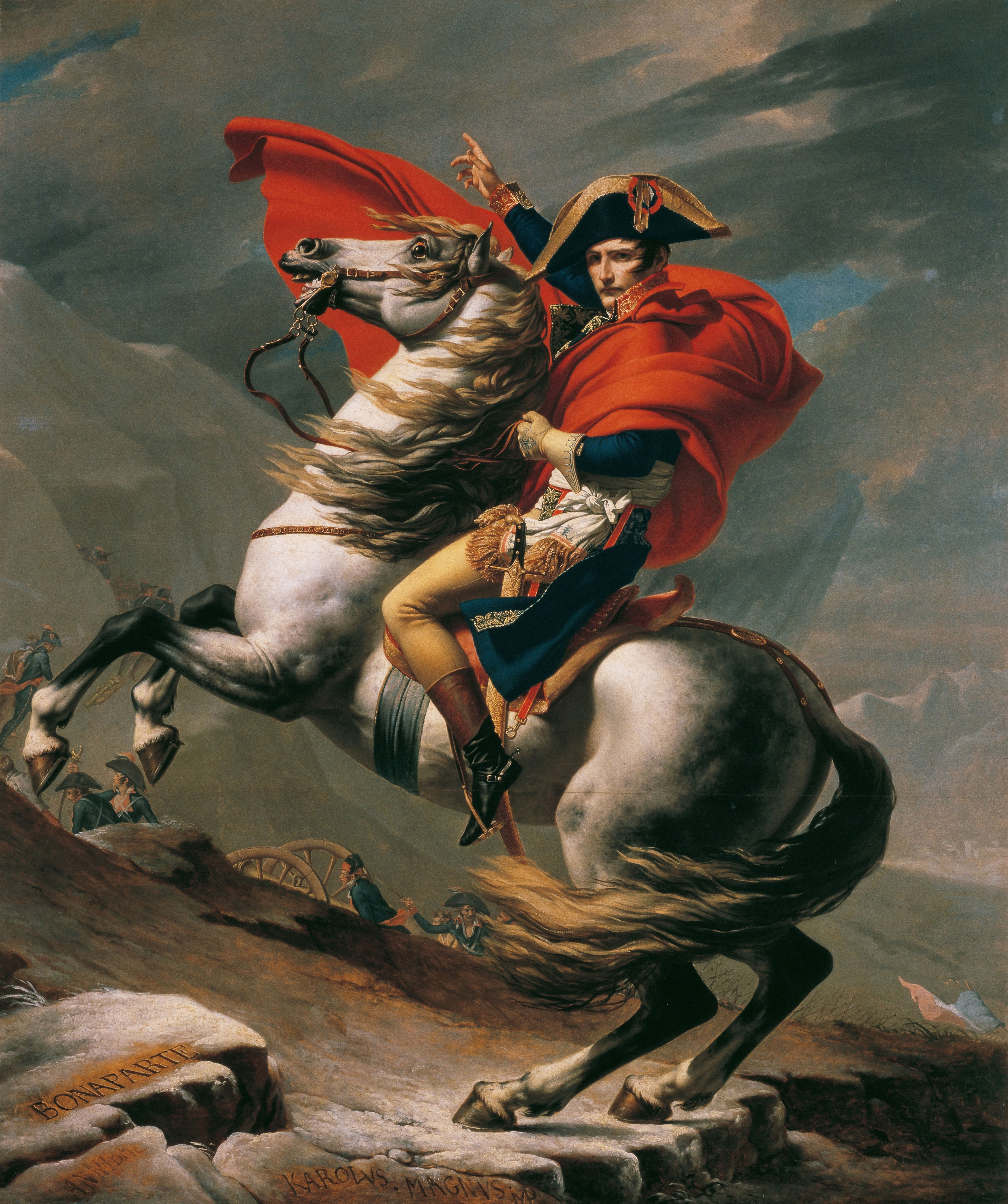 the history and politics of napoleon The napoleonic era is a period in the history of france and europe  napoleon brought political stability to a land torn by revolution and war he made peace with.