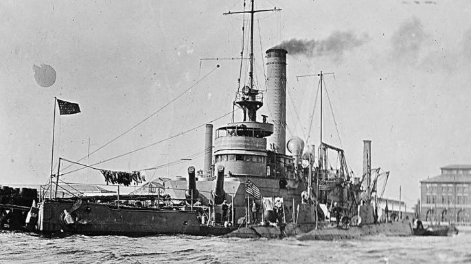 USS Ozark, c. 1915.
