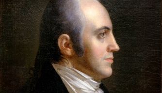 Aaron Burr in 1802.