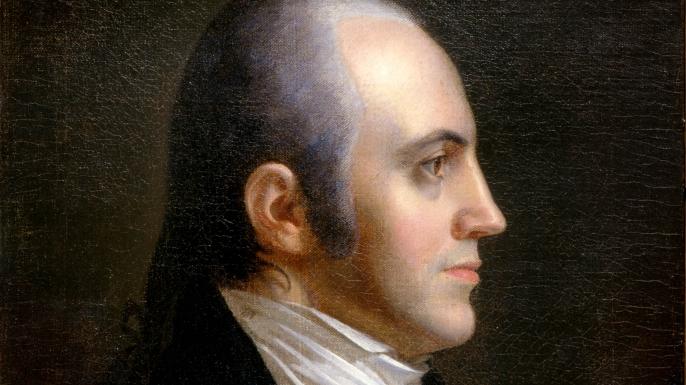 Aaron Burr in 1802.