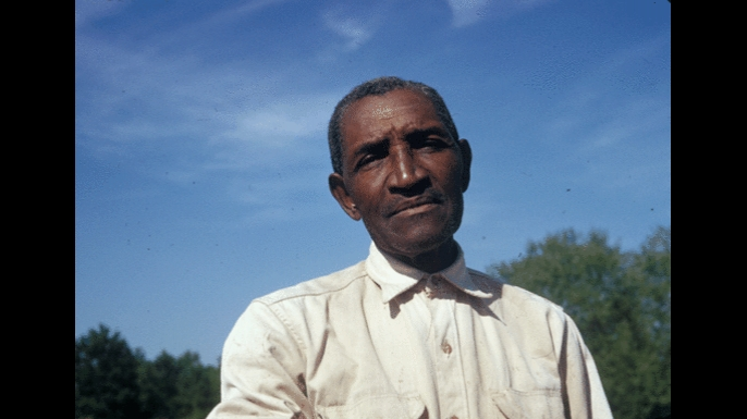 A participant in the Tuskegee Syphilis Study. (Credit: National Archives)