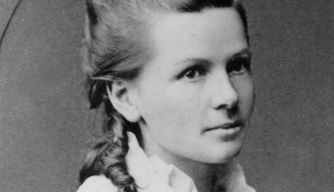 Bertha Benz, early 1870s.