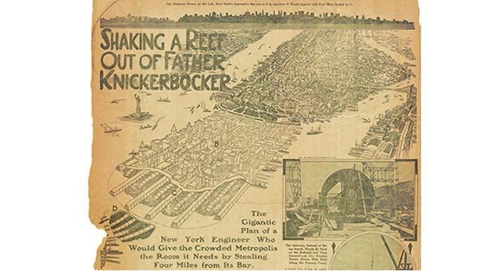 T. Kennard Thomson's New Manhattan. (Courtesy Metropolis Books)