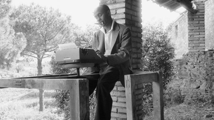 Ralph Ellison in Italy, 1957.