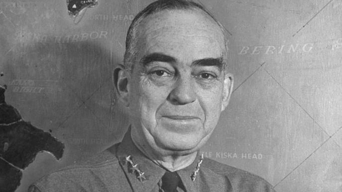 U.S. Navy Rear Admiral Thomas C. Kinkaid.
