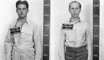 Edward John Kerling and George John Dasch, two of the eight Nazi saboteurs captured by the FBI.
