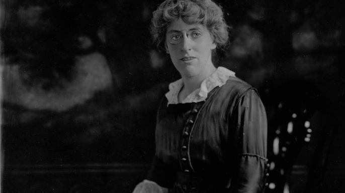 Photograph of Margaret Wilson, the daughter of Woodrow Wilson. (Credit: Library of Congress/Corbis/VCG via Getty Images)