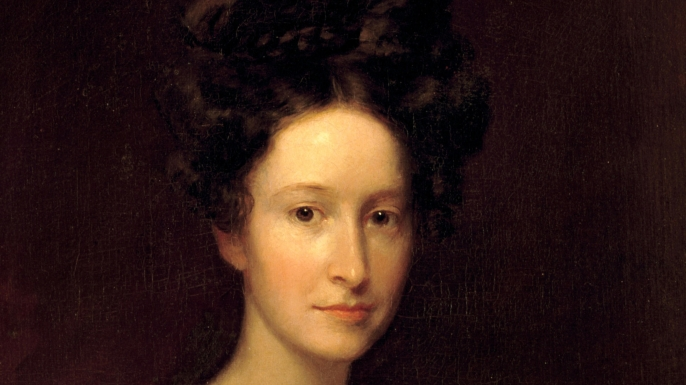 Painted portrait of Emily Donelson, the niece of U.S. President Andrew Jackson. (Credit: Science History Images/Alamy Stock Photo)