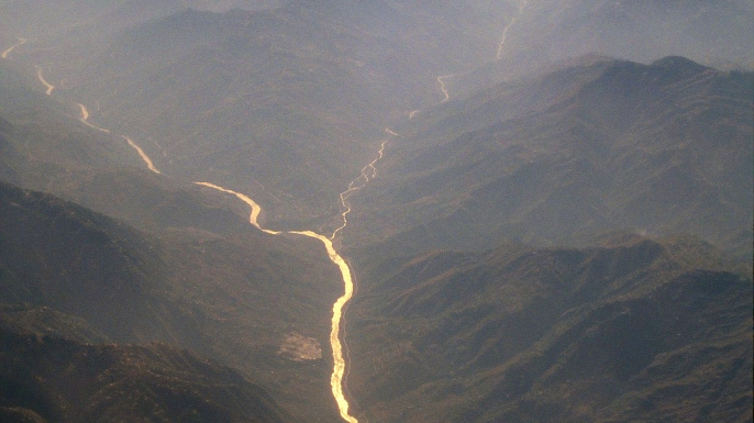 Great trans-Himalayan river of South Asia and one of the longest rivers in the world, having a length of 1,800 miles. (Credit: Amir Mukhtar/Getty Images)
