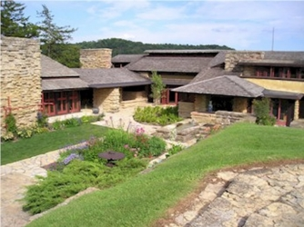 Frank Lloyd Wright's Taliesin. (Credit: Public Domain)