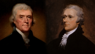 Thomas Jefferson and Alexander Hamilton