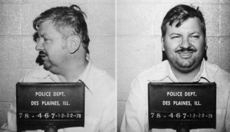 John Wayne Gacy, also known as the Killer Clown. (Credit: Mug Shot/Alamy Stock Photo)